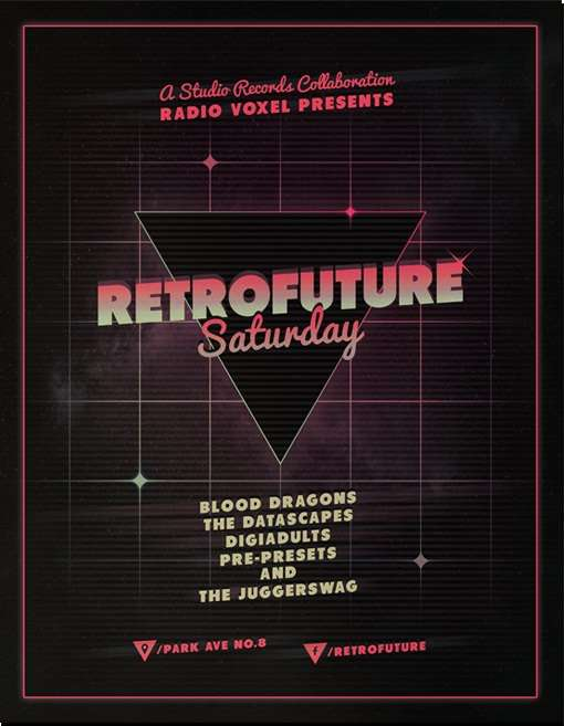 retrofuture flyer