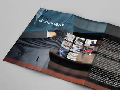 trifold business brochure freebie