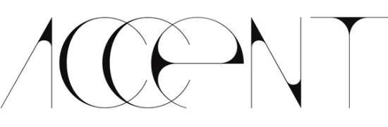 accent free super sleek font