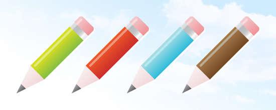 sleek pencil icon tutorial