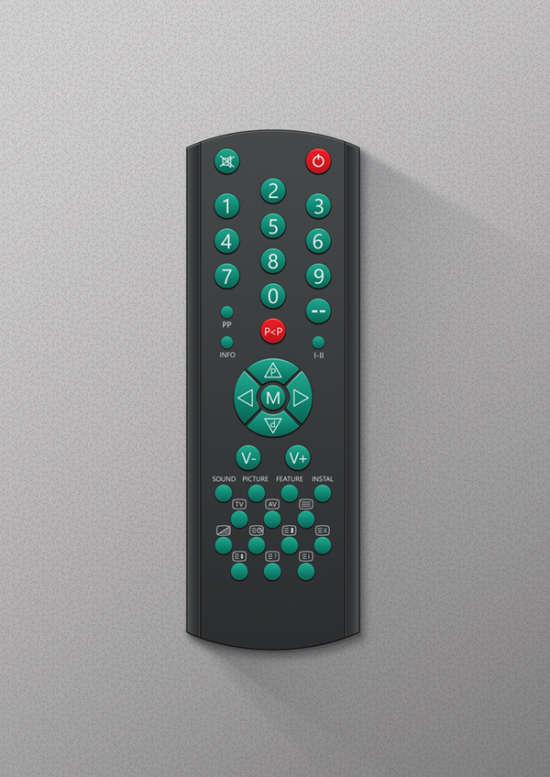 tv remote mockup tutorial