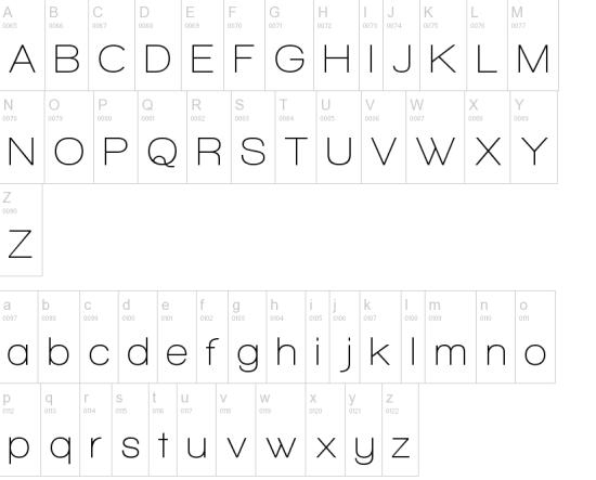 walkaway font