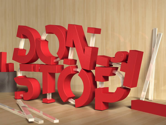 3d rubber and cup text free photoshop text effect tutorial