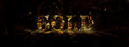 hot golden text impact free photoshop text effect tutorial