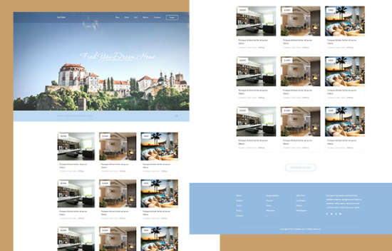 la casa real estate html template