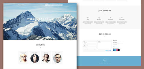 squadfree bootstrap free html template