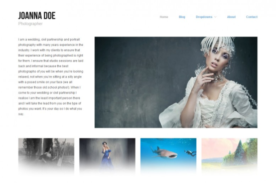 hatch amazing free minimalist wordpress theme