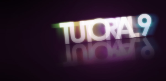 glowing text free photoshop text effect tutorial