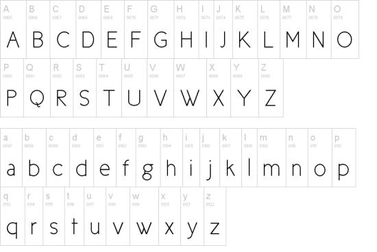 new cicle super sleek font