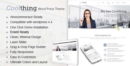 coolthing multipurpose wordpress theme