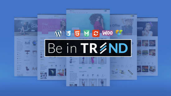 trend responsive woocommerce wordpress theme