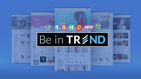 trend responsive woocommerce wordpress theme