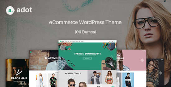 ecommerce wordpress theme adot