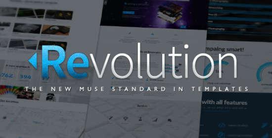 revolution parallax multipurpose muse template