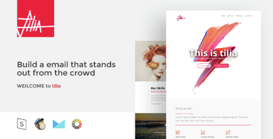 tilia responsive email template