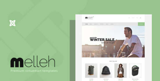 melleh clean ecwid and virtuemart template