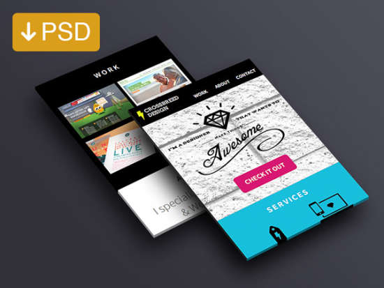 dribbble_mobile_mockup_in_perspective