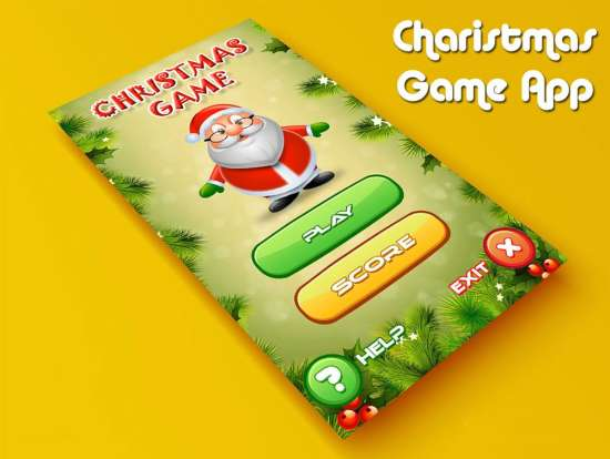 christmas_game_app_psd_for_mobile_ui