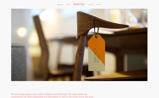 eighth day design website