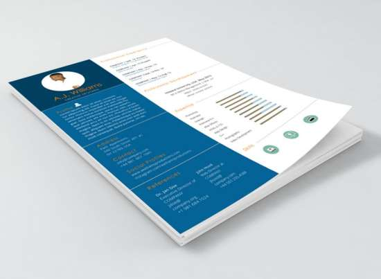 Free Resume Template (Word .doc U0026 .docx)