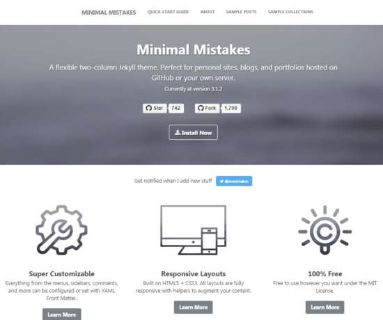 Minimal Mistakes