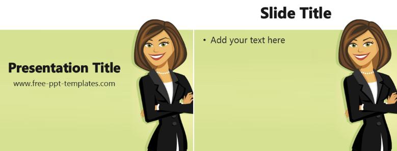 Women Entrepreneurs PowerPoint Template