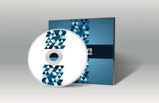 20 CD/DVD Cover Mockup Templates - XDesigns