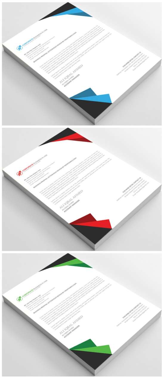 Business_letterhead_template_psd. Free Business Letterhead Template Psd.  Download  Free Letterhead Templates Download
