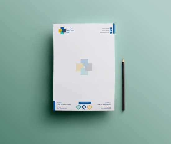 20 Letterhead Templates Mockups That Will Save You Time: Download 15 Free Letterhead Templates