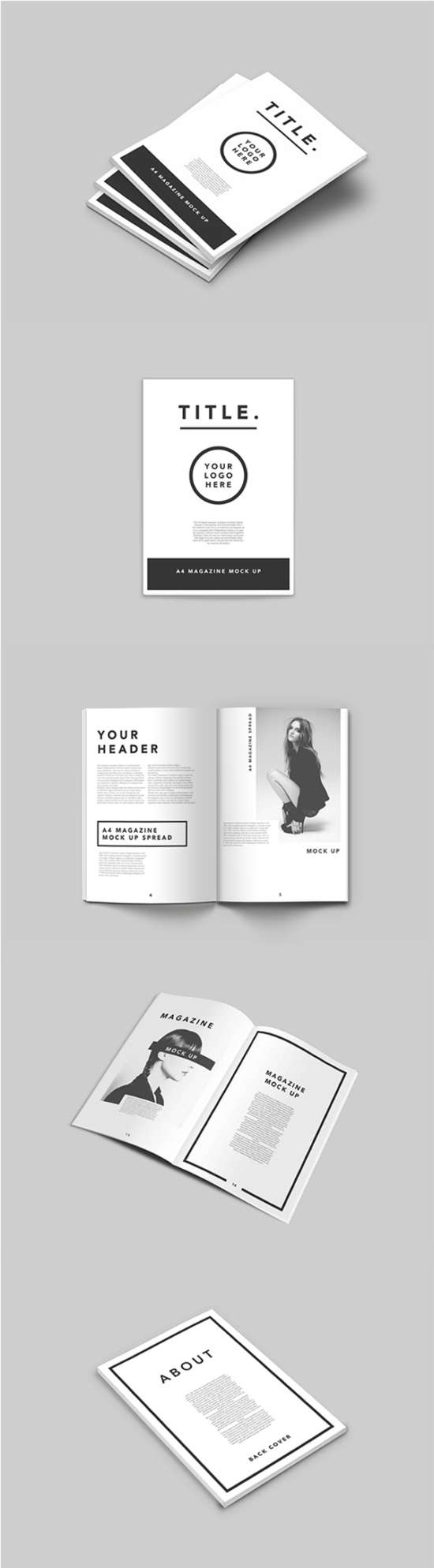 brochure mockup template - 75 free mockup templates book brochures and magazine