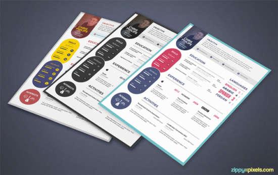 free_elegant_resume_cover_letter_psd_template