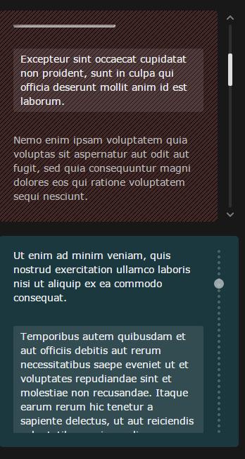 Malihu custom scrollbar plugin