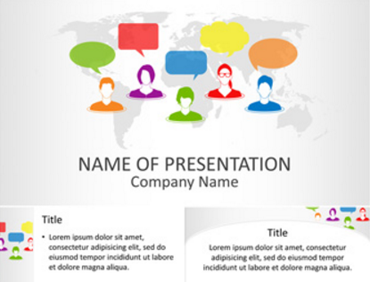 Download 10 free microsoft powerpoint templates xdesigns for Social networking sites free templates download