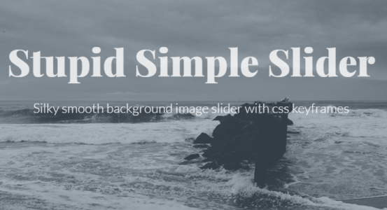 12 Simple Pure CSS Slider - XDesigns