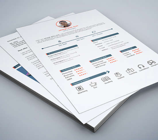 freebie_page_resume_template