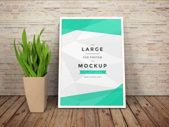 free_art_work_frame_psd_mockup