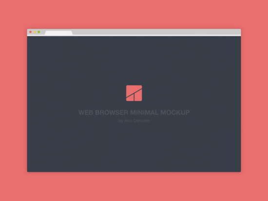web_browser_flat_minimal_mockup