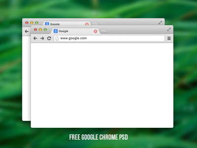 free_google_chrome_psd