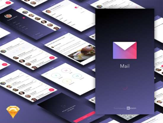 free_mail_app_ui_kit