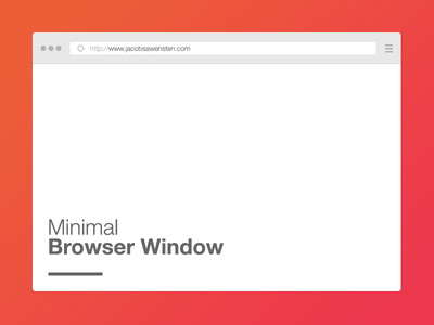 free_minimal_browser_window