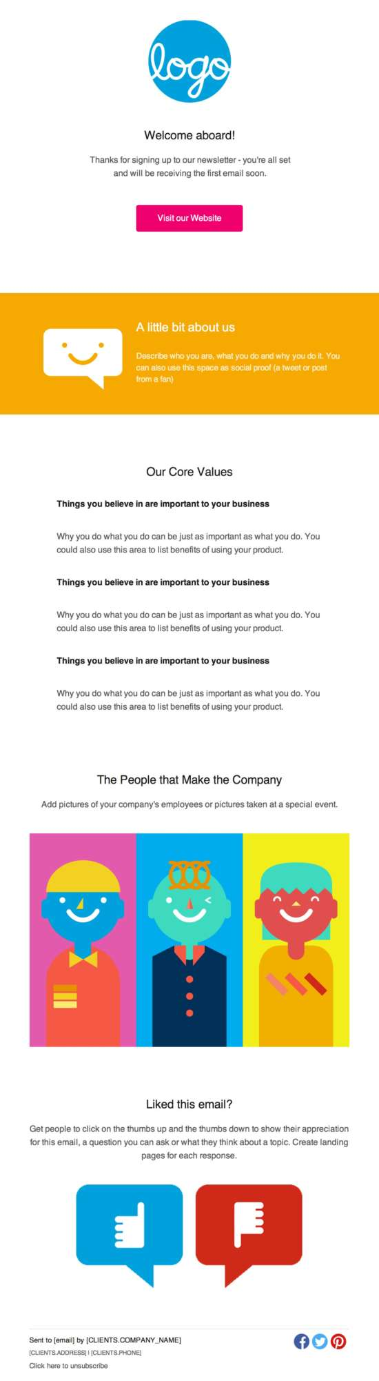 how to create an email newsletter template - download 60 free email templates xdesigns