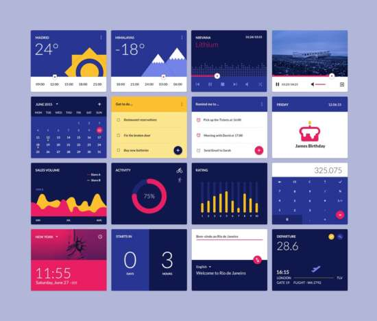 material_design_widgets_ui_kit_psd