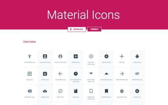 material_icons_pack