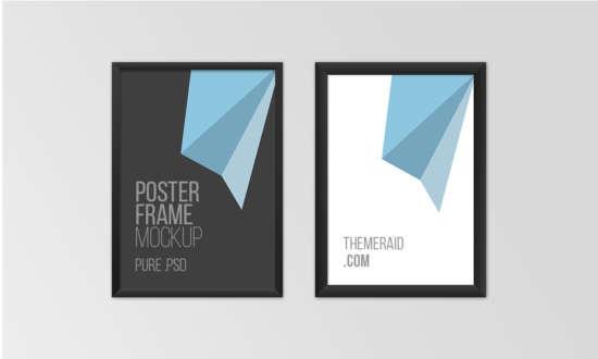 free_poster_frame_psd_mockup