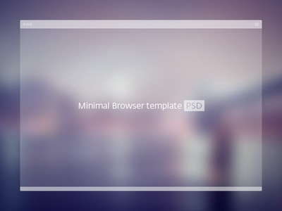 white_minimal_browser_template