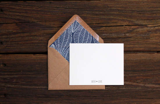 patterned _envelope _liner