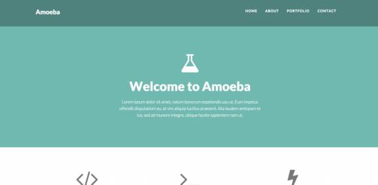 amoeba _bootstrap _template