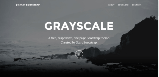 grayscale _bootstrap _template
