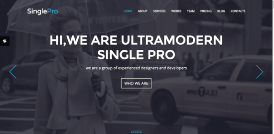 singlepro _one _page _bootstrap _template