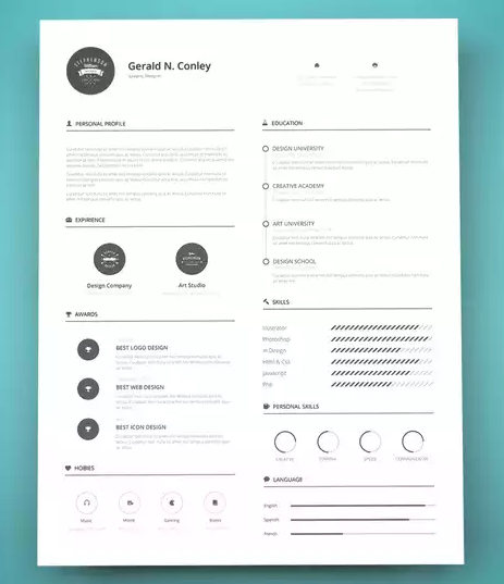 16 simple resume examples    free templates